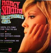 7inch Vinyl Single - Nancy Sinatra - Lightning's Girl - Original French EP