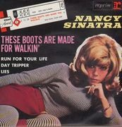 7inch Vinyl Single - Nancy Sinatra - These Boots Are Made For Walkin' - Original French EP