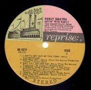 LP - Nancy Sinatra - Movin' With Nancy