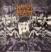LP - Napalm Death - From Enslavement To Obliteration - + Bonus 7' / Ltd / First UK