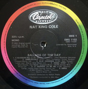 LP - Nat King Cole - Ballads Of The Day