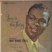 LP - Nat 'King' Cole - Love Is The Thing - Mono