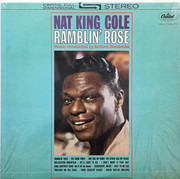 LP - Nat King Cole - Ramblin' Rose - Los Angeles Pressing