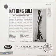 LP - Nat King Cole - Ramblin' Rose