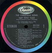 LP - Nat King Cole - The Christmas Song