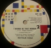 7inch Vinyl Single - Natalie Cole - Pink Cadillac