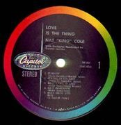 LP - Nat King Cole - Love Is The Thing