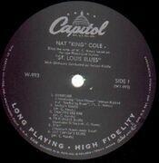 LP - Nat King Cole - St. Louis Blues