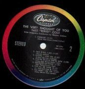 LP - Nat 'King' Cole - The Very Thought Of You