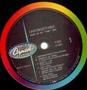 LP - Nat King Cole - Unforgettable