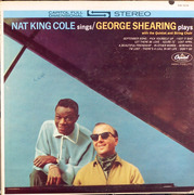 LP - Nat King Cole / George Shearing - Nat King Cole Sings / George Shearing Plays