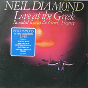 Double LP - Neil Diamond - Love At The Greek - Recorded Live At The Greek Theatre