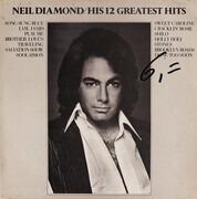 LP - Neil Diamond - His 12 Greatest Hits