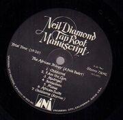 LP - Neil Diamond - Tap Root Manuscript