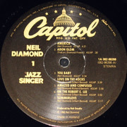 LP - Neil Diamond - The Jazz Singer (Original Songs From The Motion Picture) - Gatefold