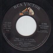 7inch Vinyl Single - Neil Sedaka - Calendar Girl / The Same Old Fool - Original US. Picture Sleeve