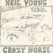LP - Neil Young & Crazy Horse - Zuma