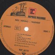 LP - Neil Young - Harvest - Gatefold
