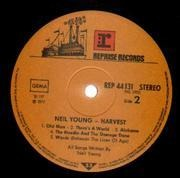 LP - Neil Young - Harvest - First German pressing