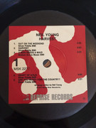 LP - Neil Young - Harvest - Red & White Labels