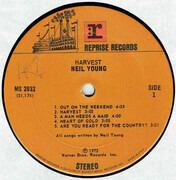LP - Neil Young - Harvest - Santa Maria Pressing