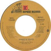 7inch Vinyl Single - Neil Young - Hawks & Doves