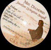 LP - Neil Diamond - Jonathan Livingston Seagull (Original Motion Picture Sound Track) - Gatefold + booklet