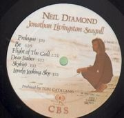 LP - Neil Diamond - Jonathan Livingston Seagull