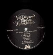 LP - Neil Diamond - Tap Root Manuscript - Gatefold