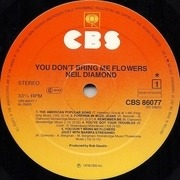LP - Neil Diamond - You Don't Bring Me Flowers