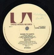 LP - Nektar - Down To Earth - Original 1st UK