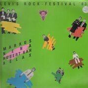 LP - Nena, Markus, Hubert Kah, Relax - Levi's Rock-Festival '83 - green vinyl