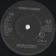 7'' - Neneh Cherry - Buffalo Stance - Paper Labels