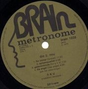 LP - Neu! - Neu! 2 - Original 1st German, Green Brain Metronome