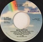 7inch Vinyl Single - New Edition - If It Isn't Love