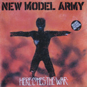 12inch Vinyl Single - New Model Army - Here Comes The War - + Poster
