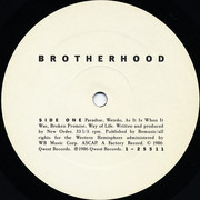 LP - New Order - Brotherhood - SRC Pressing