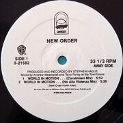 12inch Vinyl Single - New Order - World In Motion...