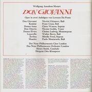 LP-Box - New Philharmonia Orchestra and Chorus , Otto Klemperer , Nicolai Ghiaurov , Franz Crass , Claire Wa - Don Giovanni - box + booklet