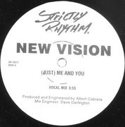12inch Vinyl Single - New Vision - (Just) Me And You - C+D Side Only