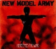 CD Single - New Model Army - Here Comes The War - Digipak