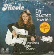 7inch Vinyl Single - Nicole - Ein Bißchen Frieden