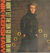 12inch Vinyl Single - Nik Kershaw - I Won't Let The Sun Go Down On Me