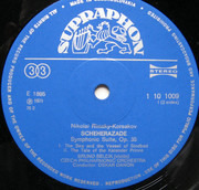 LP - Nikolai Rimsky-Korsakov , Bruno Bělčík , The Czech Philharmonic Orchestra , Oskar Danon - Scheherazade