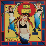 LP - Nina Hagen - Angstlos - Red Labels