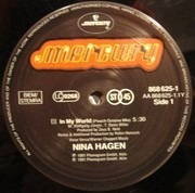 12inch Vinyl Single - Nina Hagen - In My World