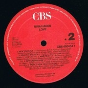 LP - Nina Hagen - Love