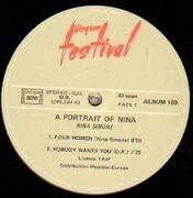 Double LP - Nina Simone - A Portrait Of Nina
