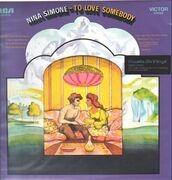 LP - Nina Simone - To Love Somebody - 180 GRAM AUDIOPHILE VINYL