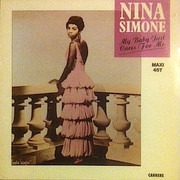 12inch Vinyl Single - Nina Simone - My Baby Just Cares For Me